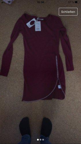 Sweater Dress bordeaux