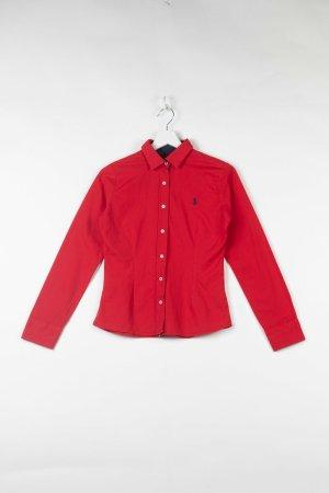 Rotes Ralph Lauren Hemd in S