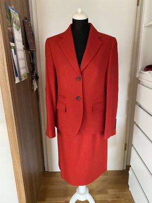 Twin set in maglia rosso-rosso mattone