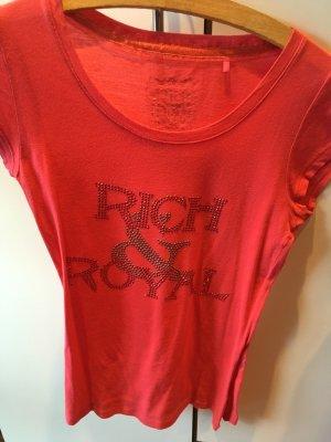 Rotes Rich&Royal Shirt
