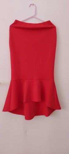 True Violet Tulip Skirt red