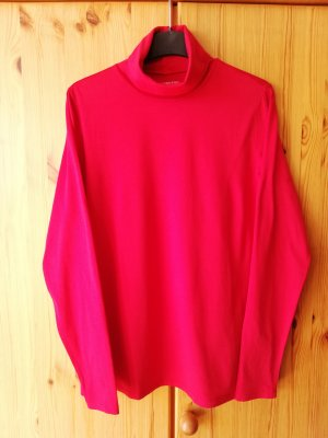 Lands' End Turtleneck Shirt red