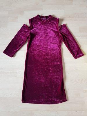 Pimkie Cut out jurk donkerrood