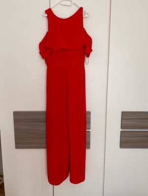Rotes schönes Overall von Zara Gr L