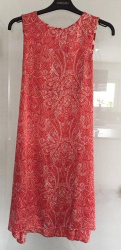 Rotes Seidenkleid Gr. 36