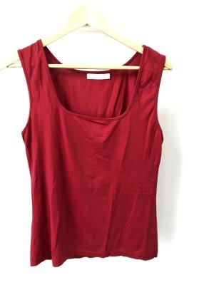 Zara Camisa de tirantes para hombres rojo-beige