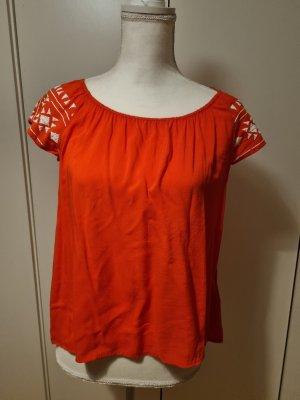 Colours of the World Carmen Shirt white-red