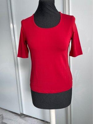 Rena Lange T-Shirt dark red