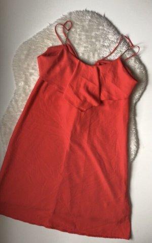 Rotes Sommer Kleid, kurz