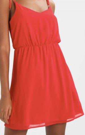Rotes Sommerkleid / Freizeitkleid rot