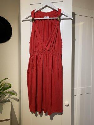 Rotes Sommerkleid von C&A in Größe XL