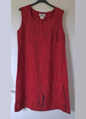 rotes Sommerkleid von CHALOU, Größe 42