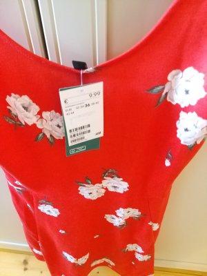rotes Sommerkleid von H&M