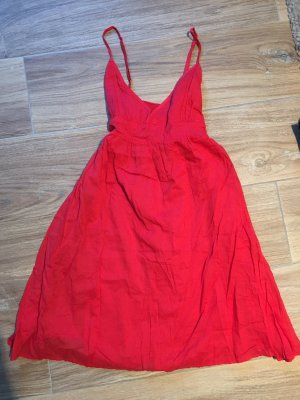 Rotes Sommerkleid von Zara, Gr. M