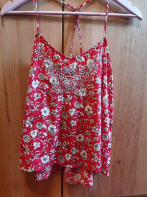 Rotes Sommertop   Hollister
