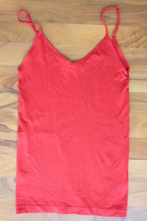 Rotes stretch Top
