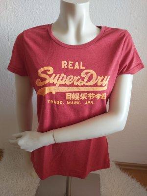 Rotes Superdry Tshirt