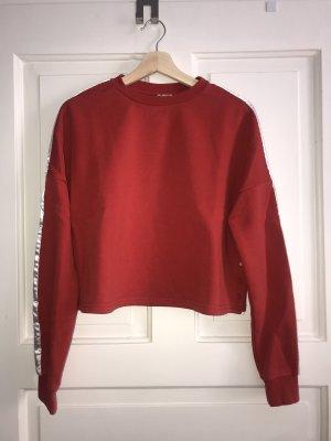 H&M Divided Bluza dresowa czerwony-biały