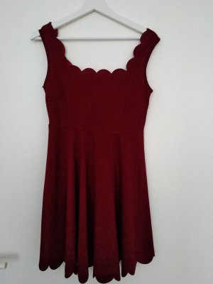 SheIn Babydoll Dress carmine