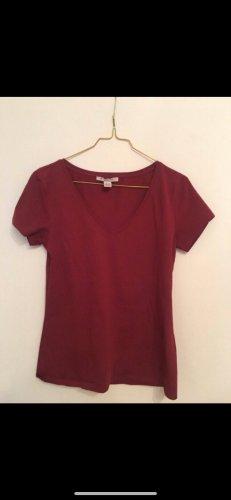 Anna Field T-shirt donkerrood
