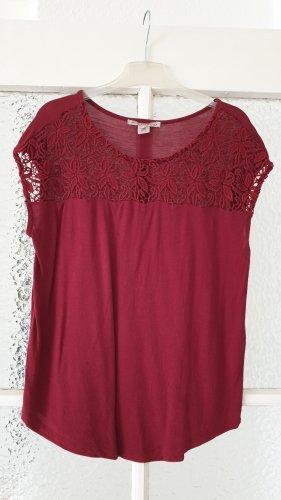 Rotes T-Shirt Gr. 38