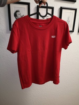 rotes T-Shirt Levis
