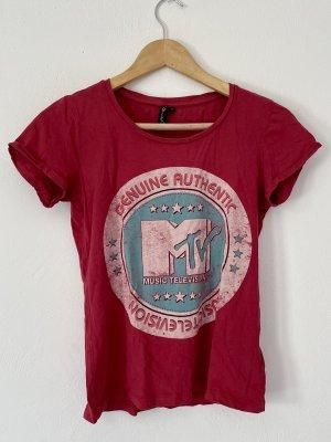 BlendShe Koszulka z nadrukiem Wielokolorowy