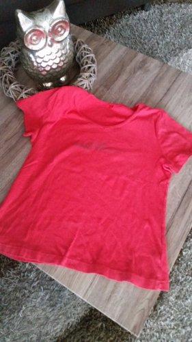 Rotes T-Shirt v. s.Oliver Gr. 40 / 42 L Top