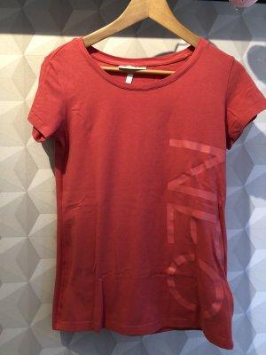 rotes T-Shirt von Adidas NEO