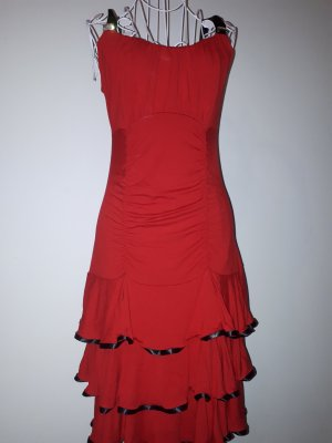 rotes tanzkleid in 36