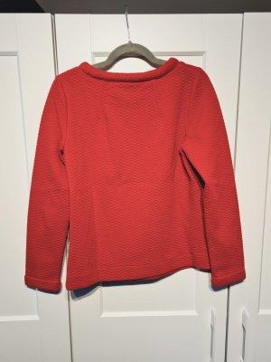 Boden Koszulka z dekoltem w łódkę czerwony