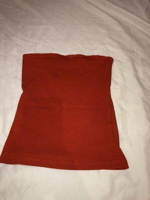 H&M Top bandeau rojo