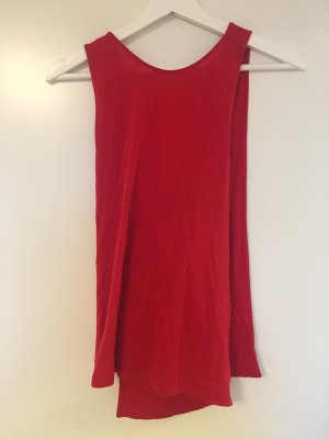 & other stories Top schiena coperta rosso
