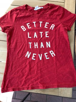 Rotes Tshirt von H&M