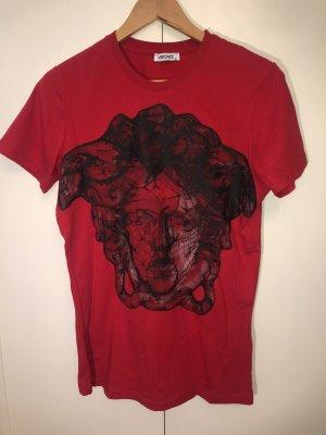 rotes Versace T-Shirt