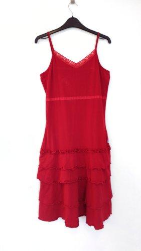 Rotes Vintage Kleid von FitZ - Sommerkleid