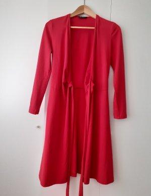 Rotes Wickelkleid (Nachhaltig - Made in Germany)