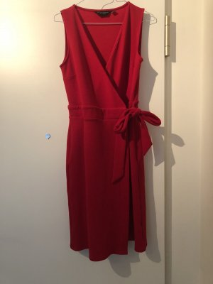 Rotes Wickelkleid von Dorothy Perkins