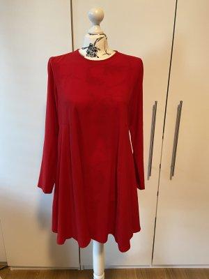 Rotes Zara Kleid Gr. M A-Linie