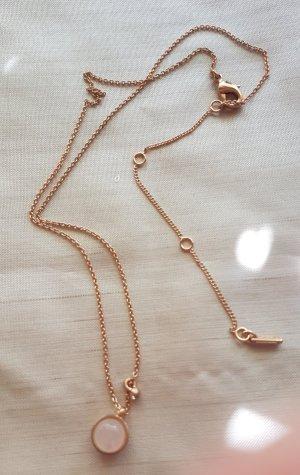 Pilgrim Catena d'oro color oro rosa Metallo