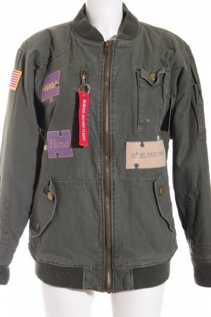 Roth Co Flight Jacket khaki casual look