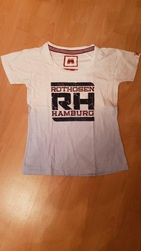 Rothosen T-Shirt, hellblau-farbverlauf,Gr.40
