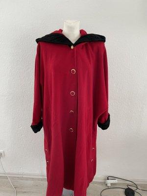 Rotkäppchen Wintermantel rot schwarz gr 44