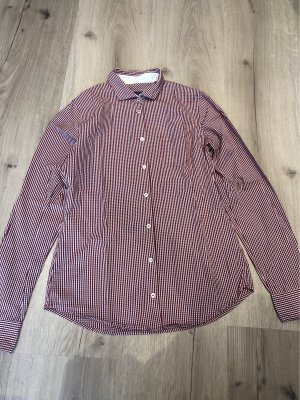 Rotkarierte Bluse von Marc O'Polo