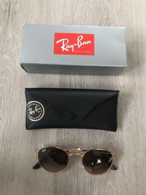 Ray Ban Occhiale da sole rotondo bronzo
