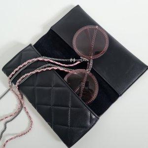 Chanel Okrągłe okulary przeciwsłoneczne srebrny-w kolorze różowego złota