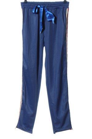 ROUTE 28 Joggingbroek blauw atletische stijl