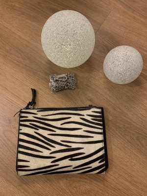 Rox & Ann London Borsetta mini nero-bianco sporco