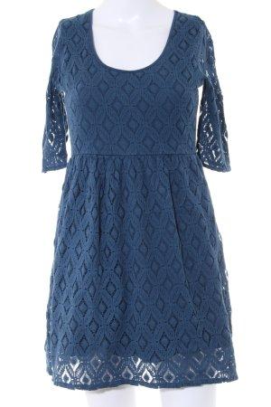Roxy A-Linien Kleid blau Elegant