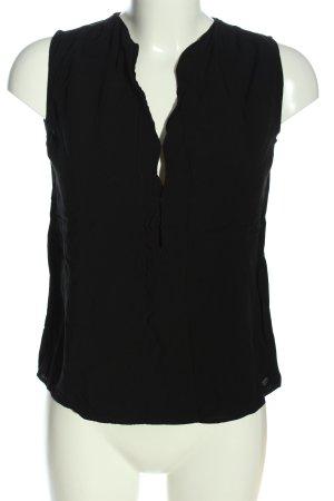 Roxy ärmellose Bluse schwarz Casual-Look